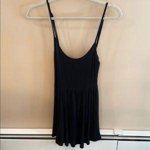 Brandy Melville Black Tank Dress One Size Fits All